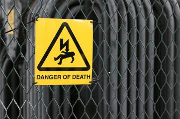 dangerofdeathsign